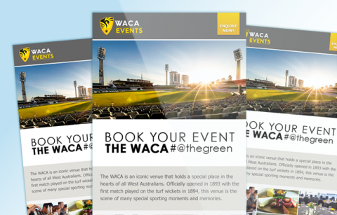WACA Events – MailChimp Template