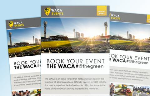 WACA Events – MailChimp Template