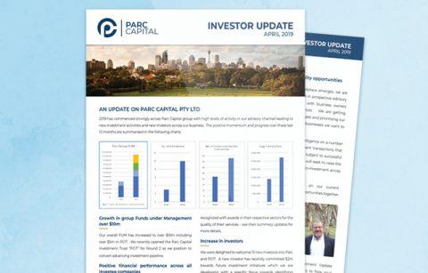PARC Capital – Investor Newsletter – PDF
