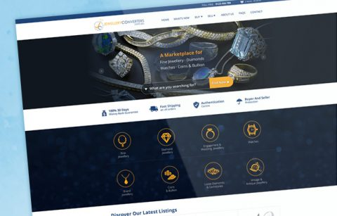 Jewellery Converters – UX/UI Design – eCommerce Store