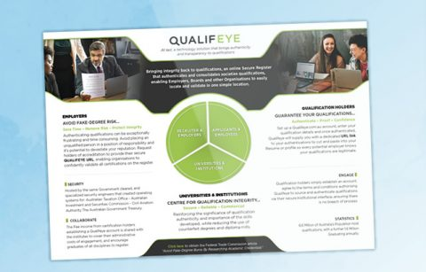 Qualifeye – One Page Brochure – PDF