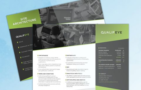 Qualifeye – Two Page Brochure – PDF