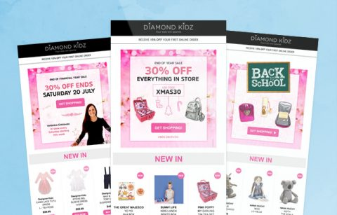 Diamond Kidz eStore Newsletter