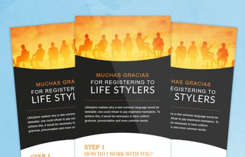 Lifestylers – Welcome Email – MailChimp Template