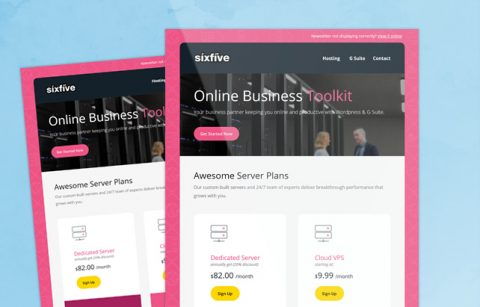 SixFive – MailChimp Template