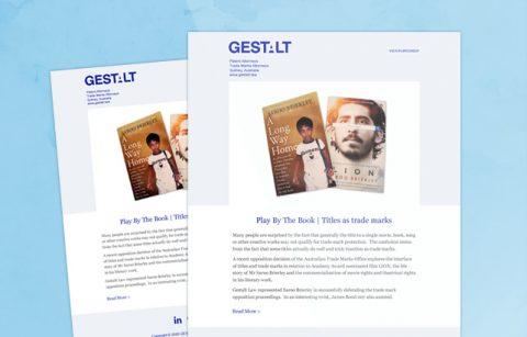 Gestalt Law – MailChimp Template