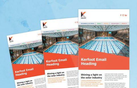 Kerfoot – MailChimp Template