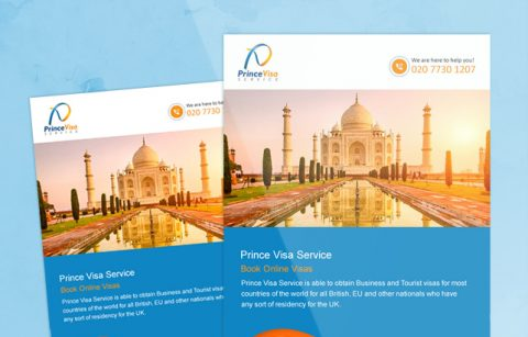 Prince Visa – MailChimp Template