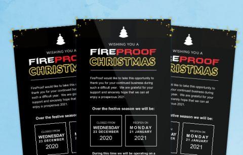 MailChimp Template – Fireproof – Christmas eBlast